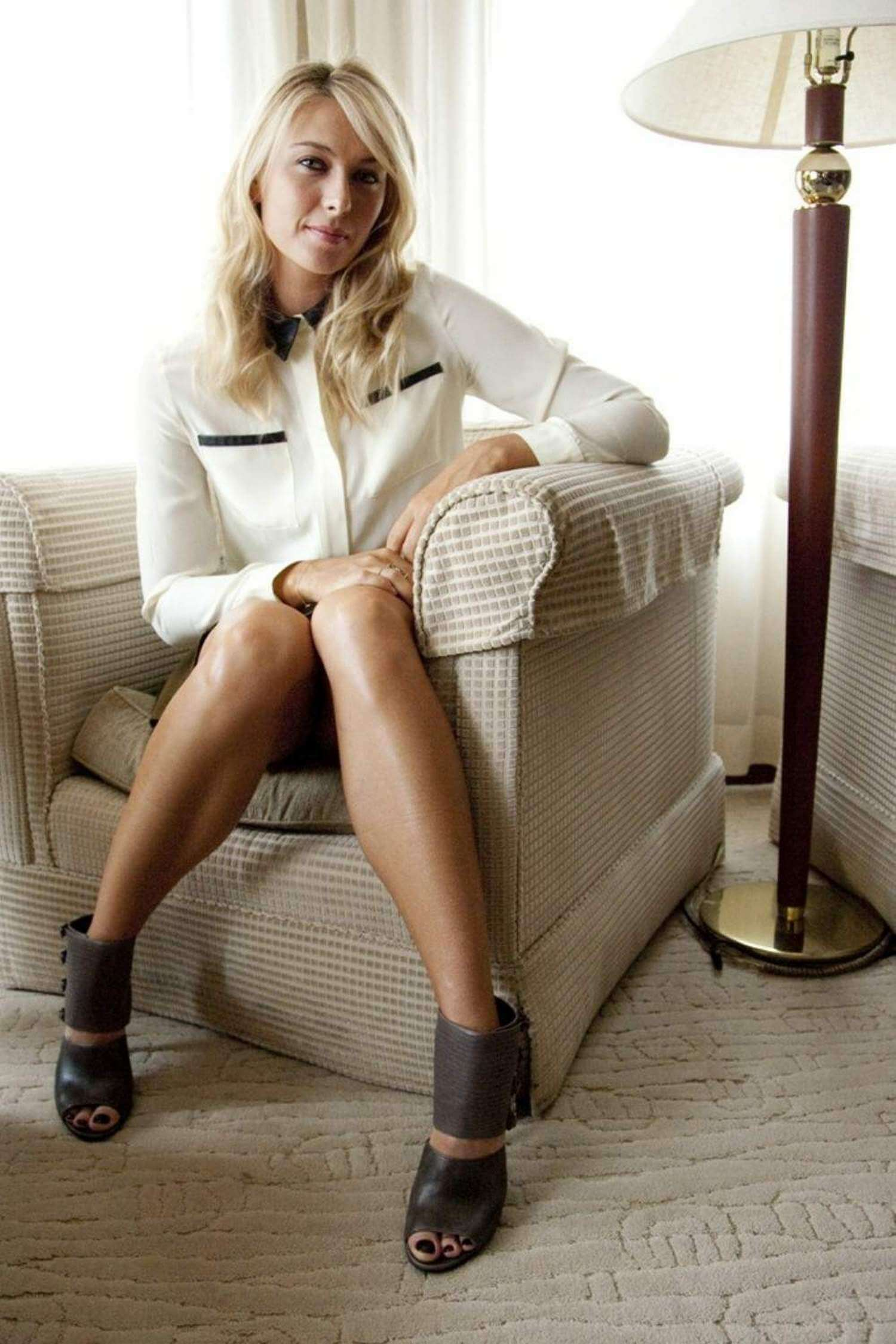 Maria Sharapova hot legs