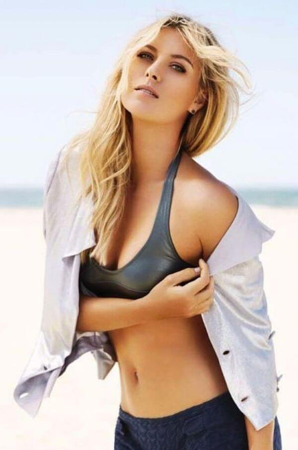 Maria Sharapova hot look photo