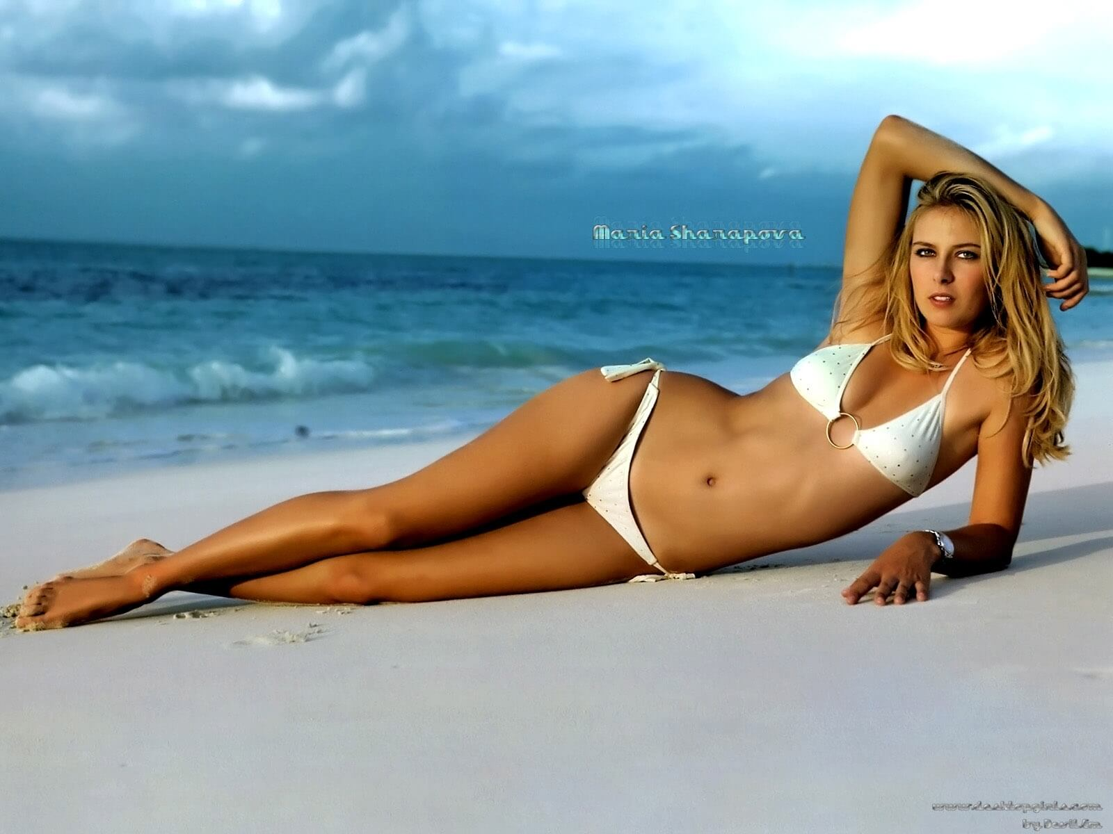 Maria Sharapova sexy bikini photo