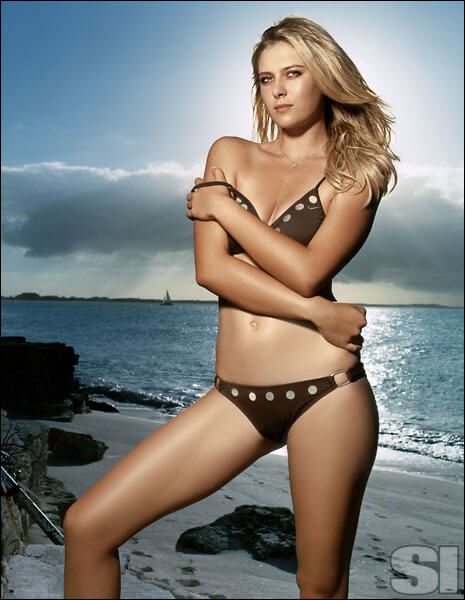 Maria Sharapova sexy look