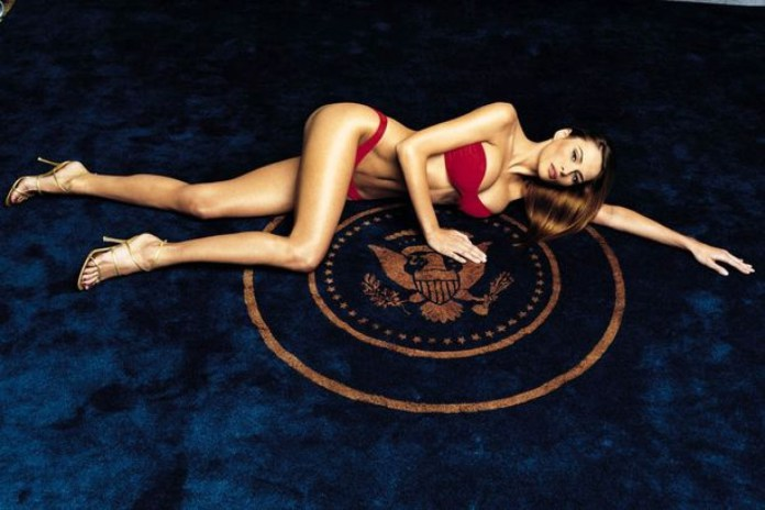 Melania Trump damm sexy photo