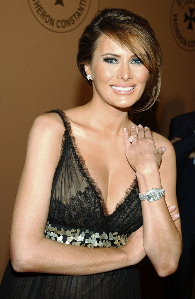 Melania Trump sexy lady picture