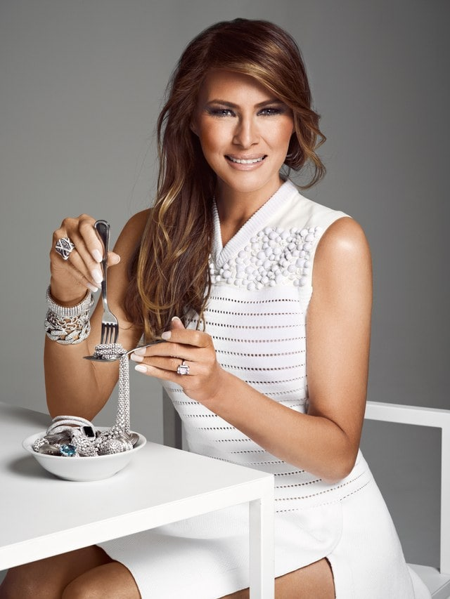 Melania Trump sexy women photo