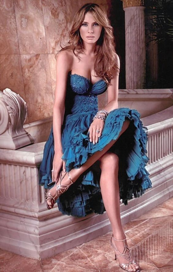 Melania Trump sexy women