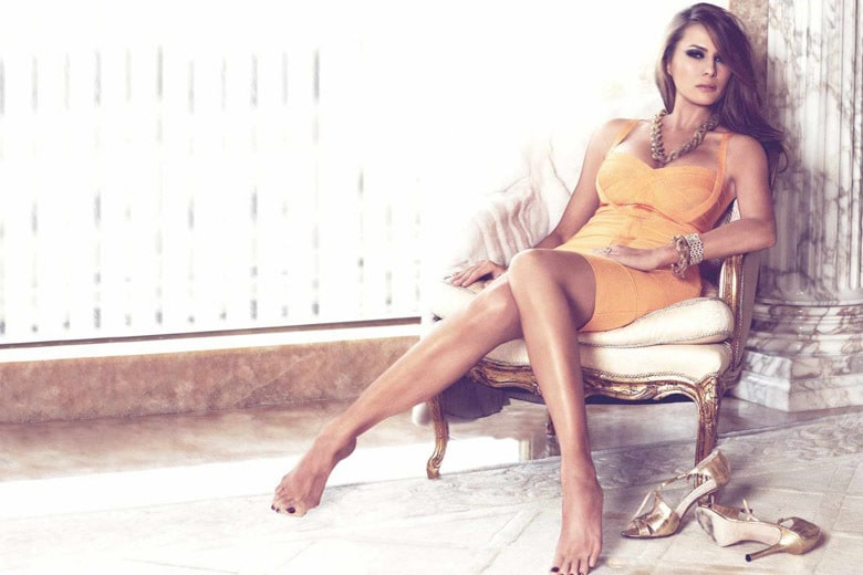 Melania Trump too sexy photo