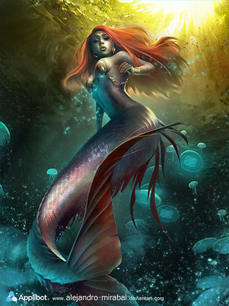 Mermaid damm hot