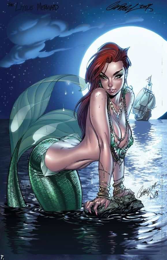 Mermaid sexy women photo