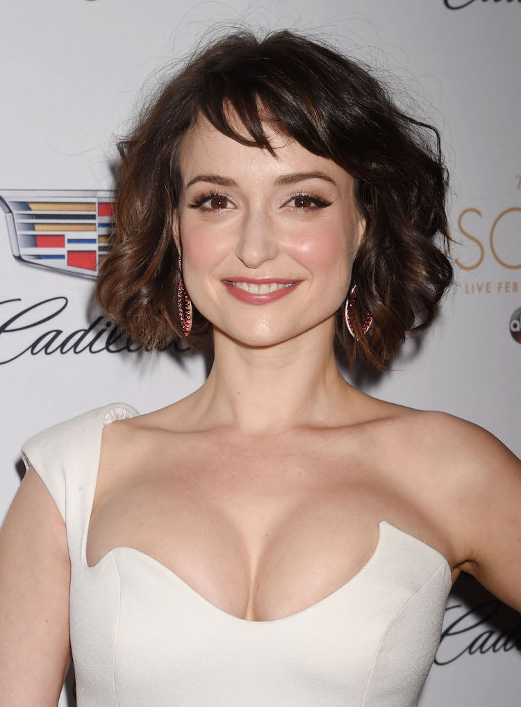 Milana Vayntrub damm hot photo