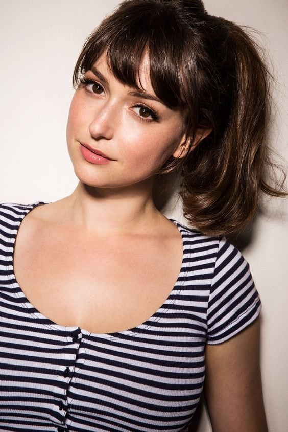Milana Vayntrub damm sexy photo