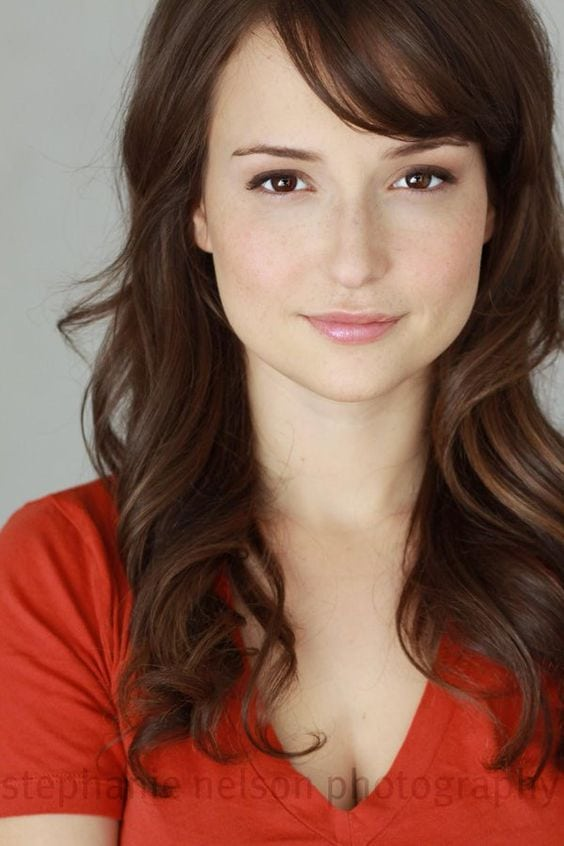Milana Vayntrub hot women pic
