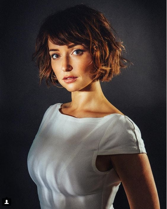 Milana Vayntrub too hot photo