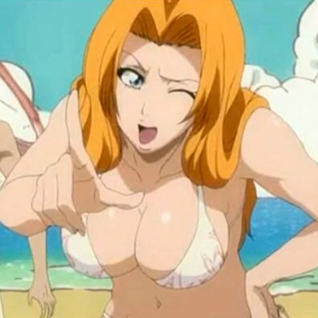 Rangiku sexy tits share your