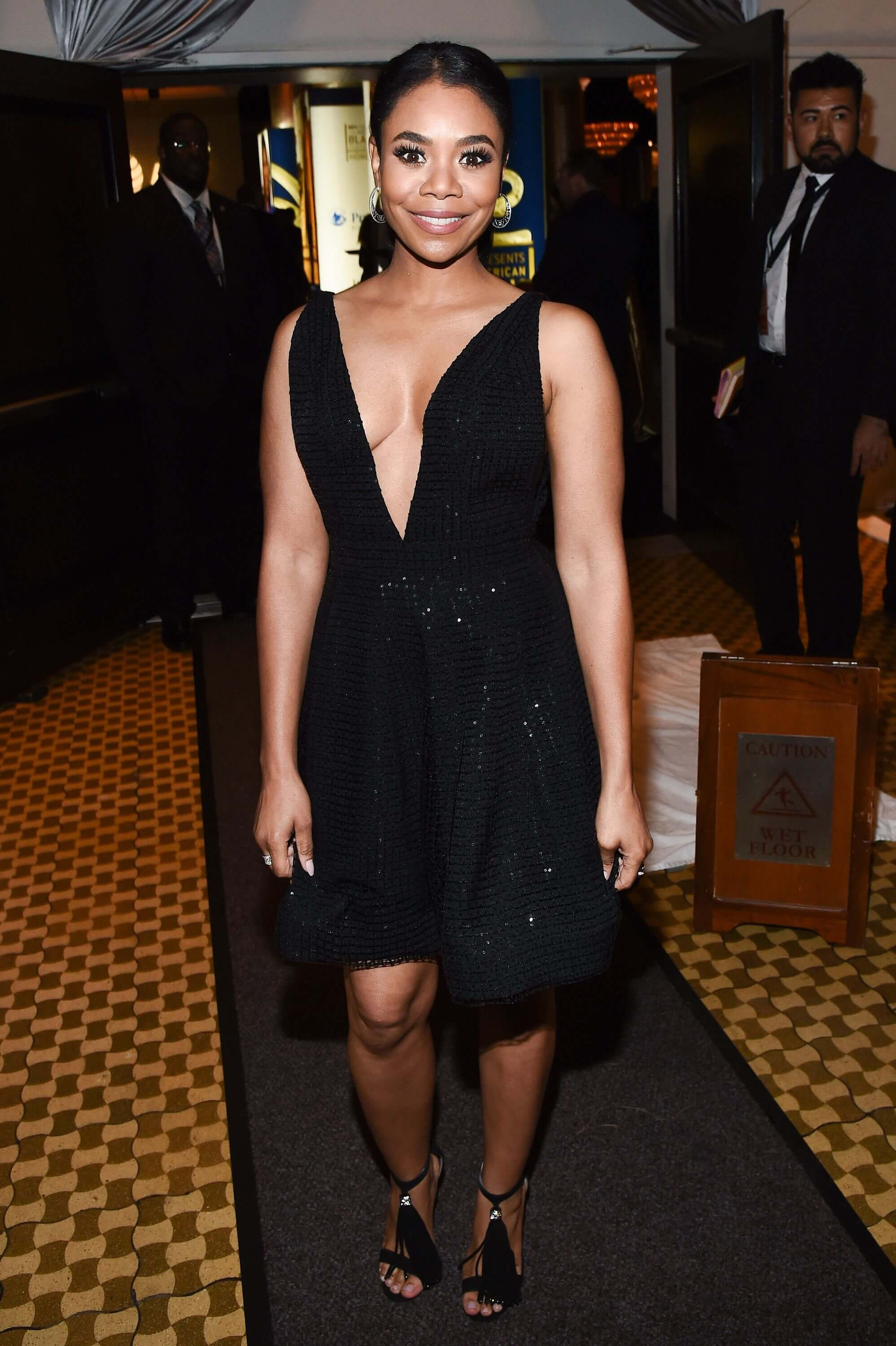Regina Hall cleavage