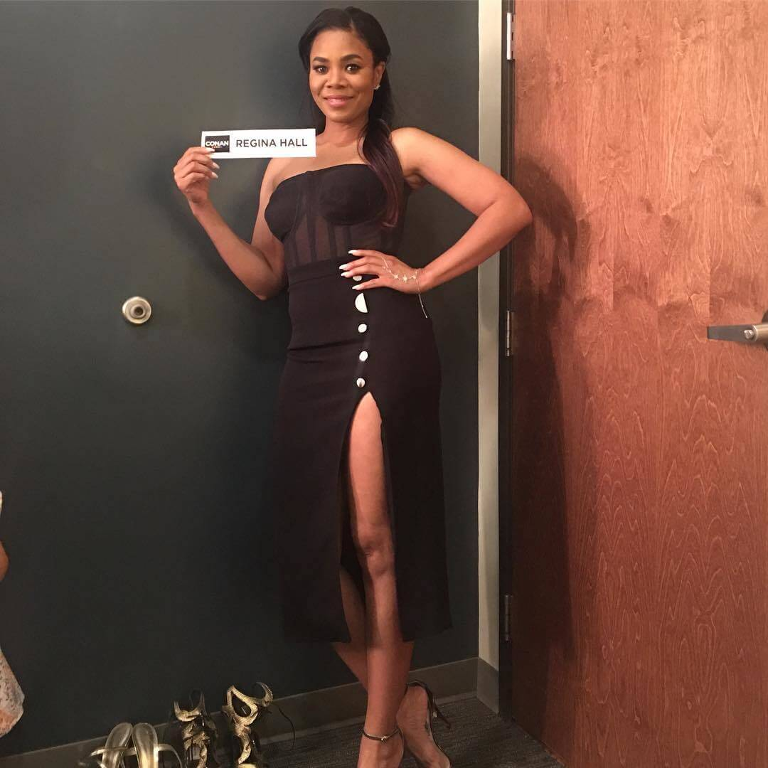 Regina Hall sexy smile pic