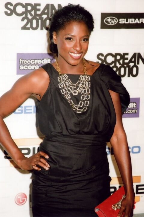 Rutina Wesley black sexy dress