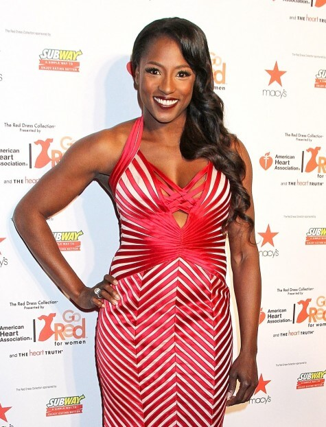 Rutina Wesley red sexy dress