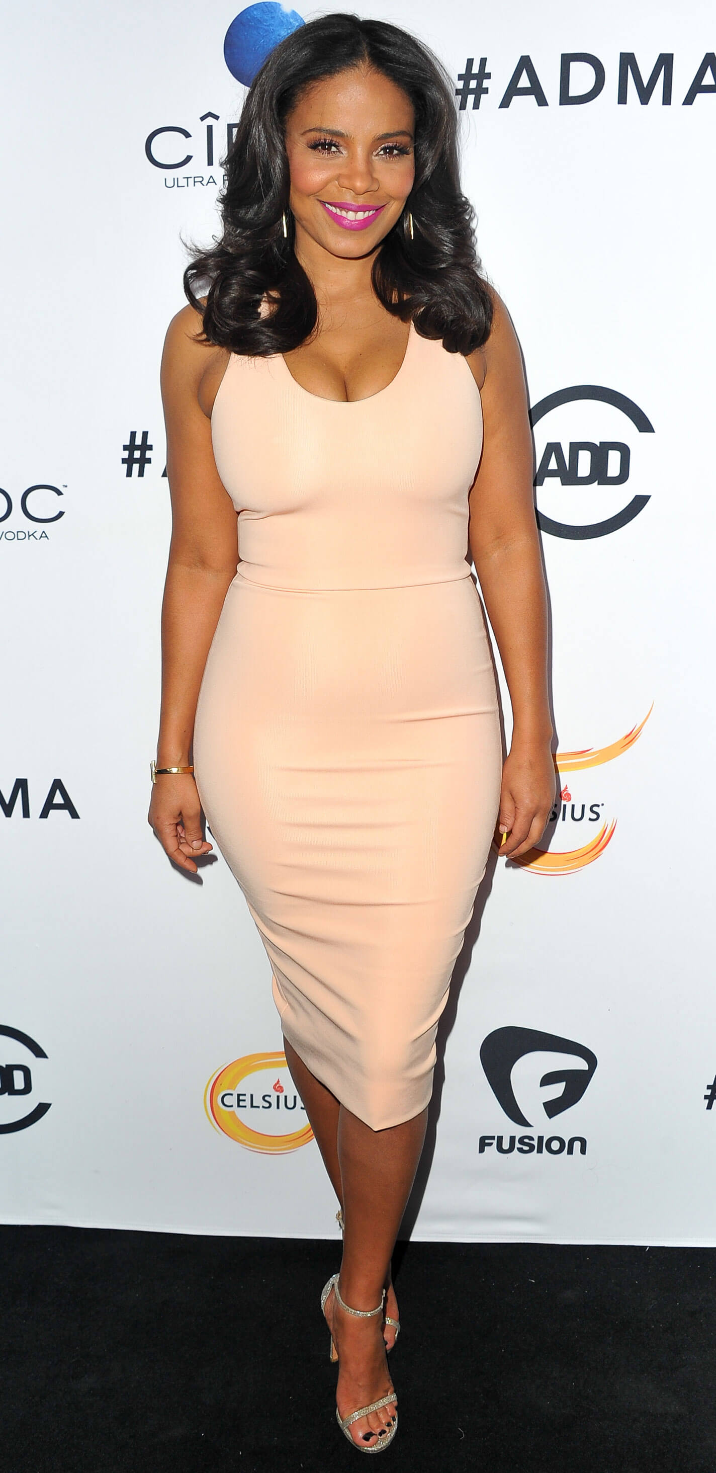 Sanaa Lathan sexy tite dress