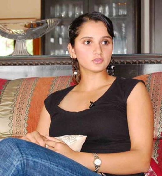 Sania Mirza hot women picture