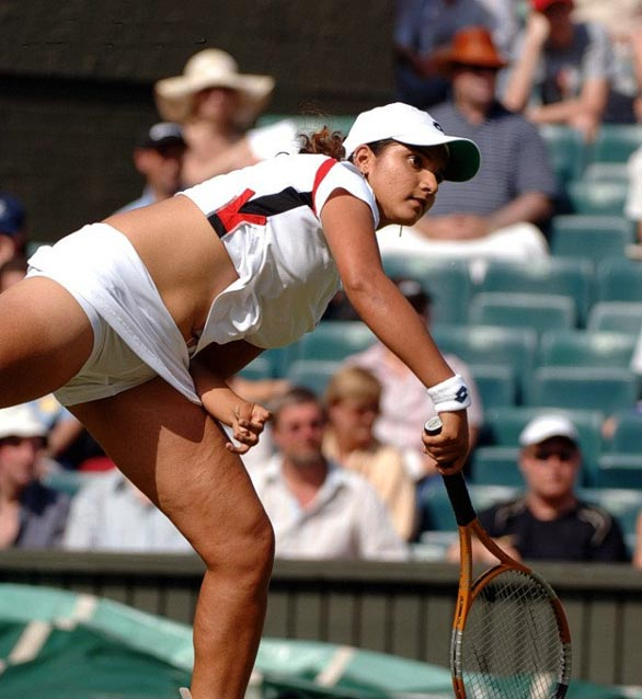 Sania Mirza sexy women photo
