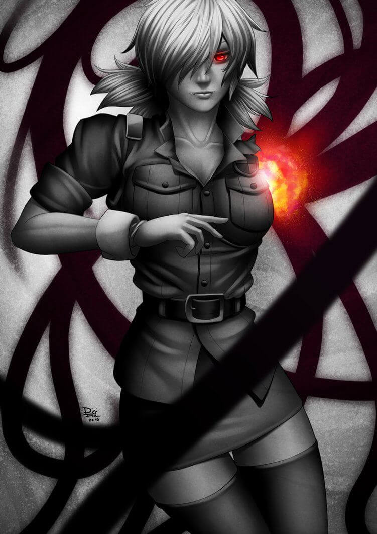 Seras Victoria awesome pic