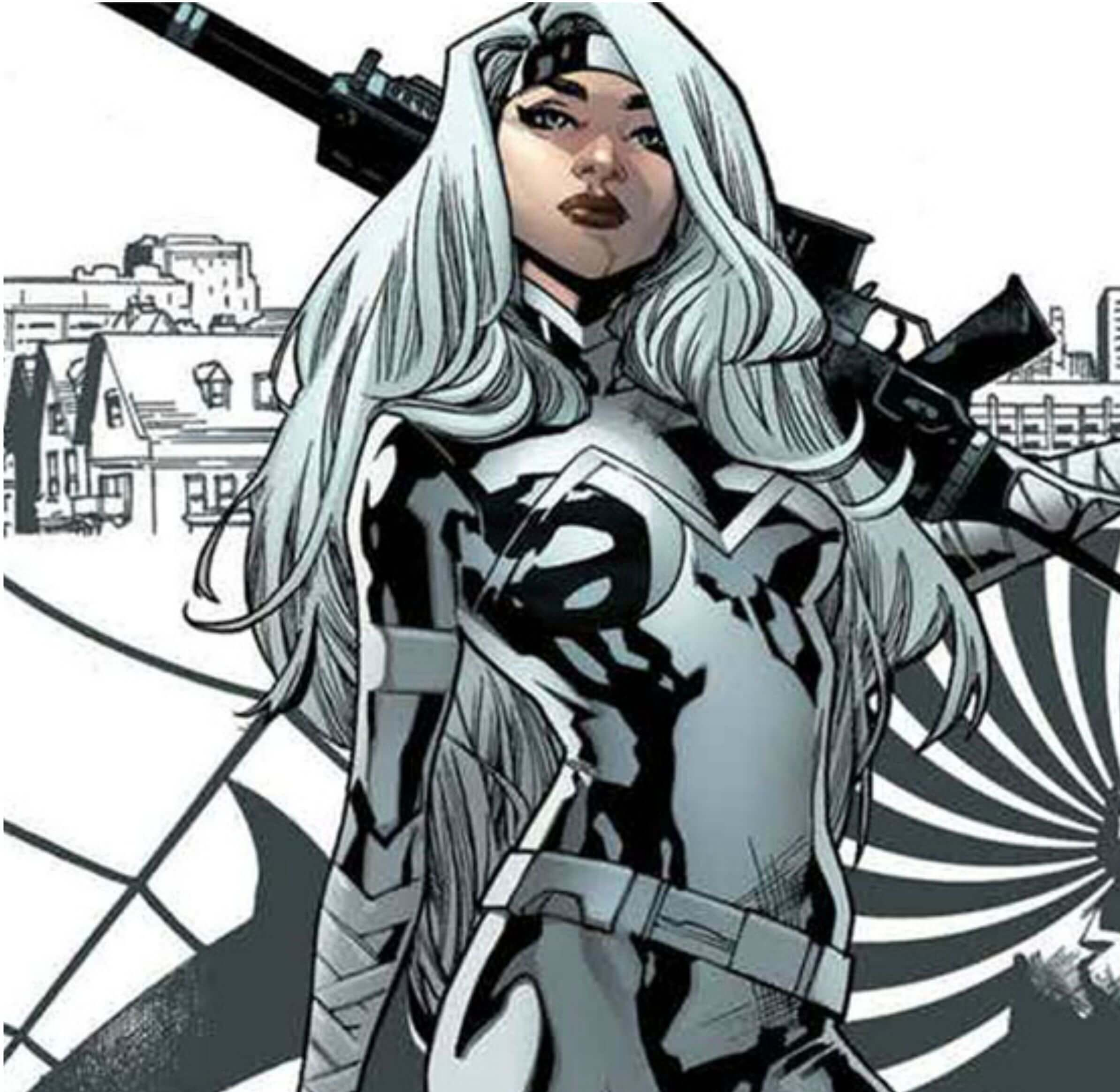 Silver Sable awesome pic (2)