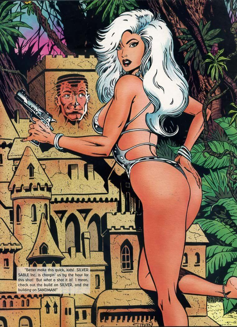 Silver Sable hot ass