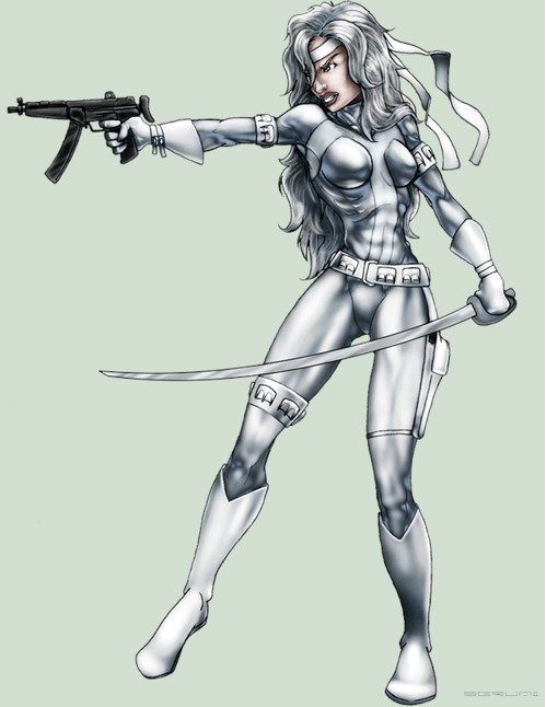 Silver Sable hot photos