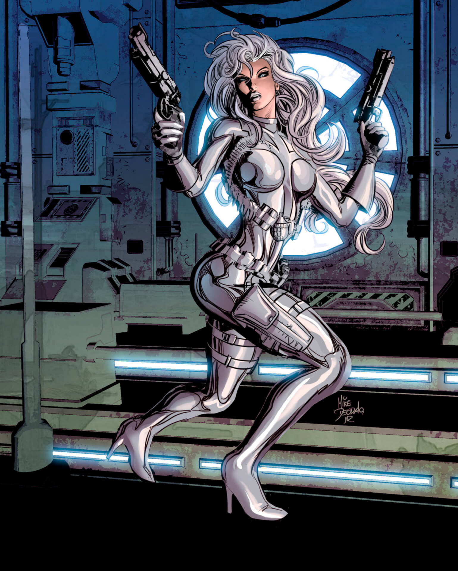 Silver Sable hot thigh
