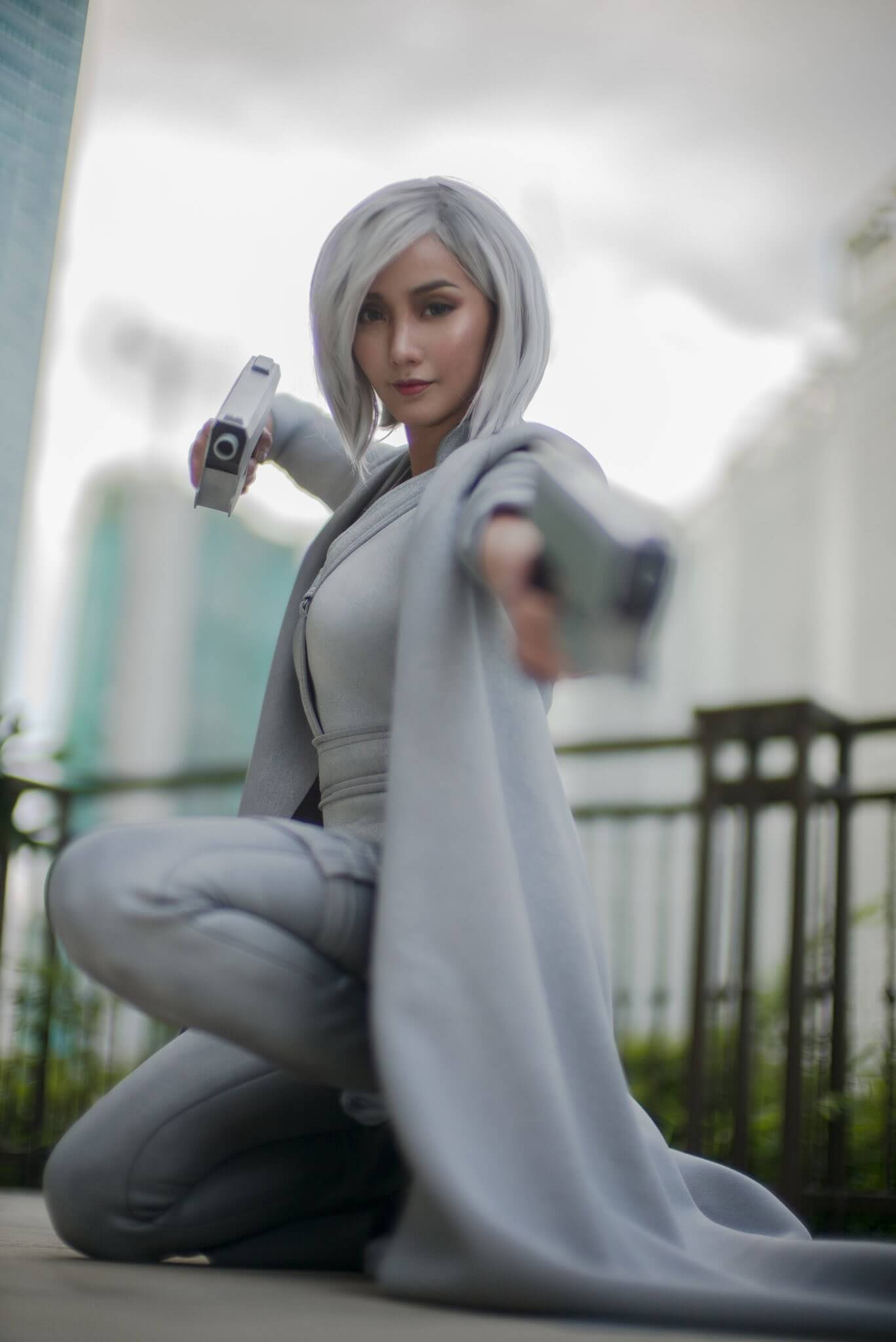 Silver Sable sexy look pic (2)