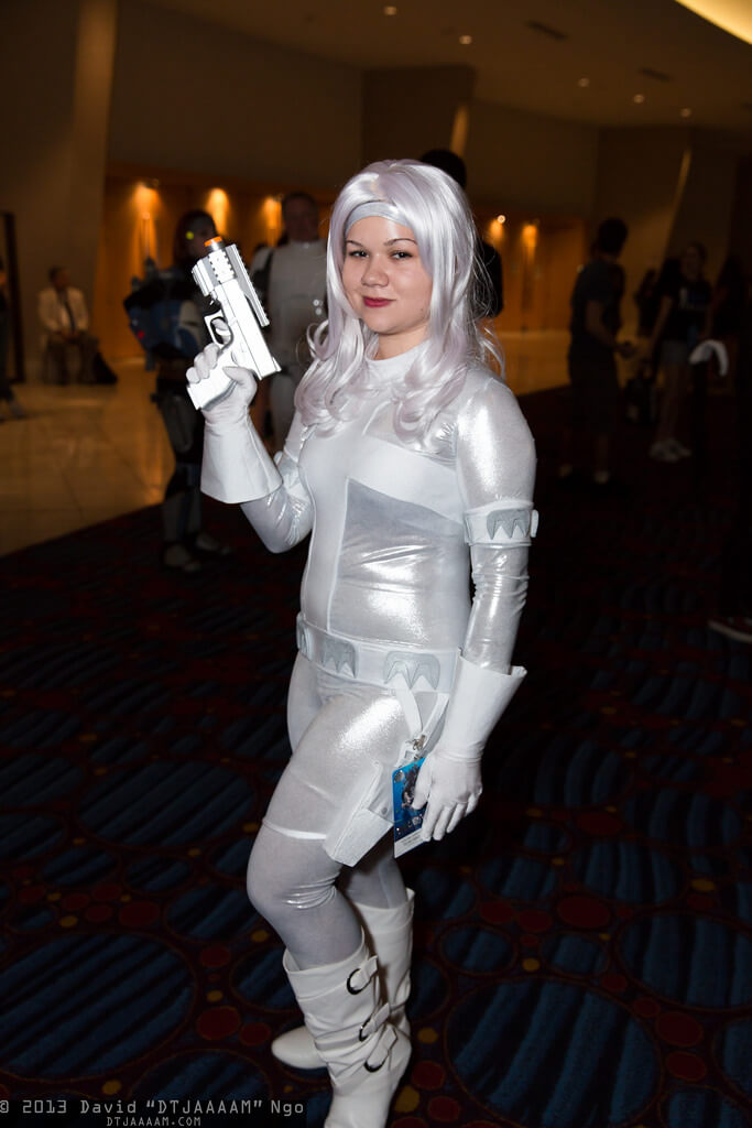 Silver Sable sexy look pic