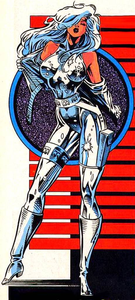 Silver Sable sexy photos