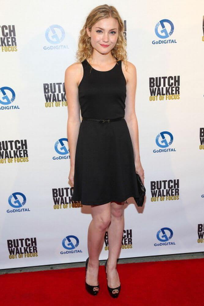 Skyler Samuels black awesome dress