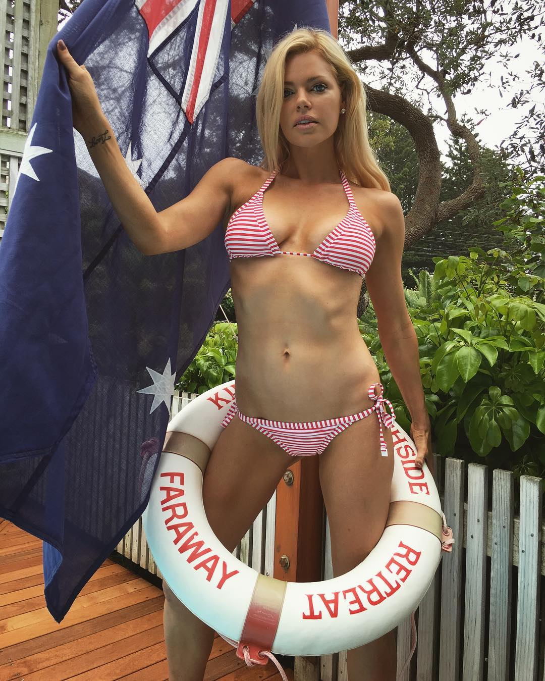 Was and Sophie monk shows her tits very