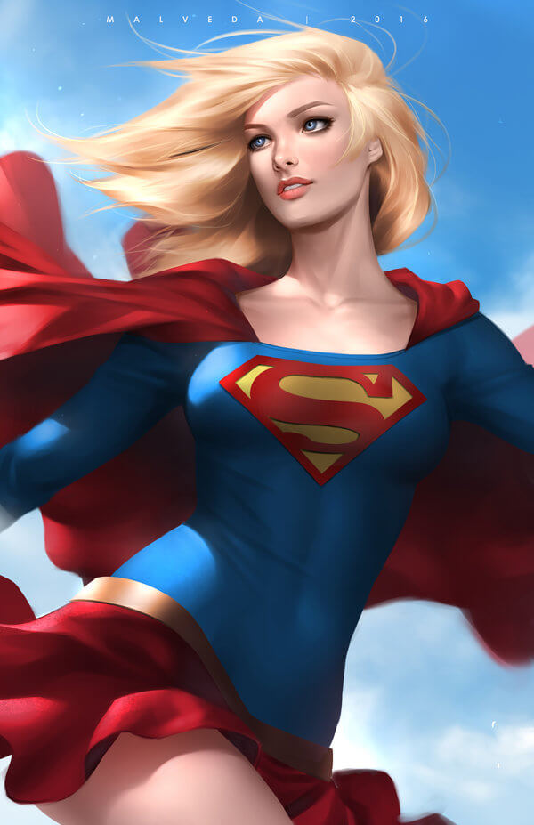 Supergirl sexy girl pic