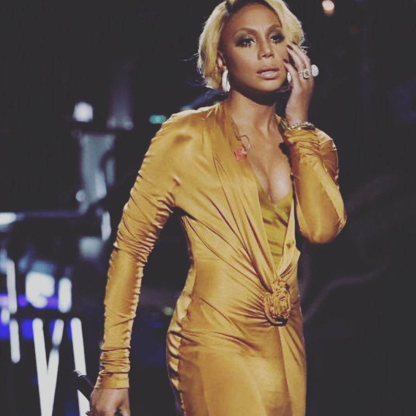 Tamar Braxton Party wear