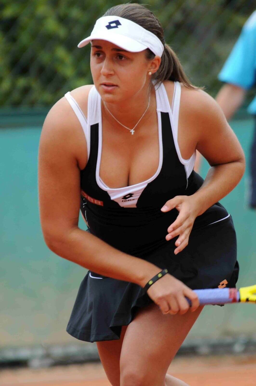 Tamira Paszek awesome cleavages pics