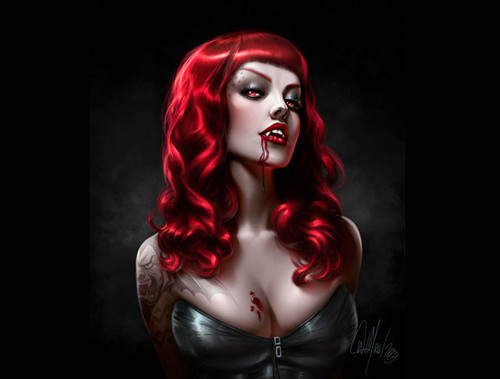 Vampires too sexy pic