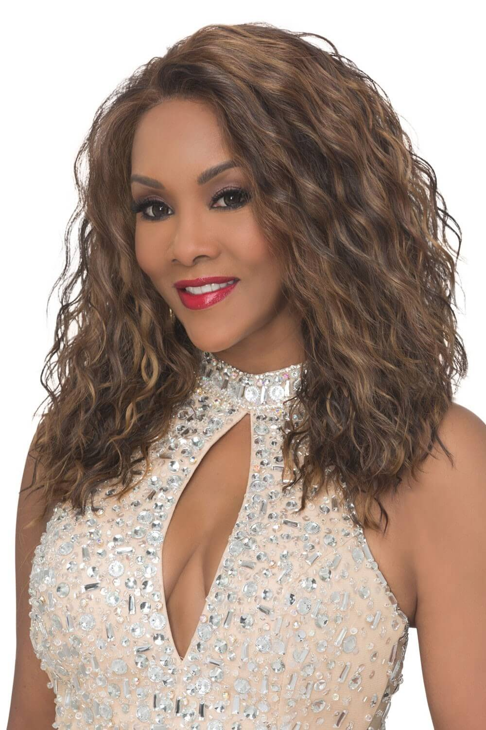 Vivica A. Fox hot cleavage photo