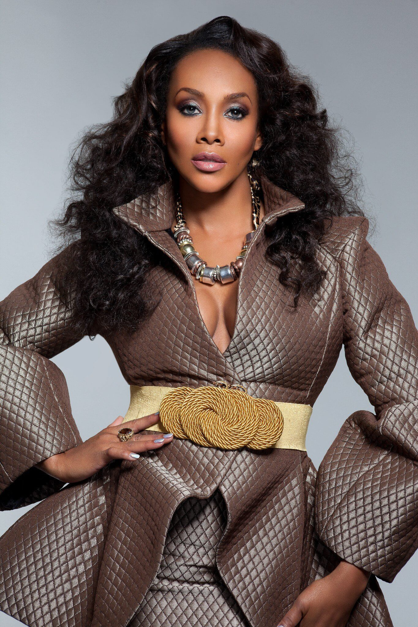 Vivica A. Fox hot cleavages picture (3)