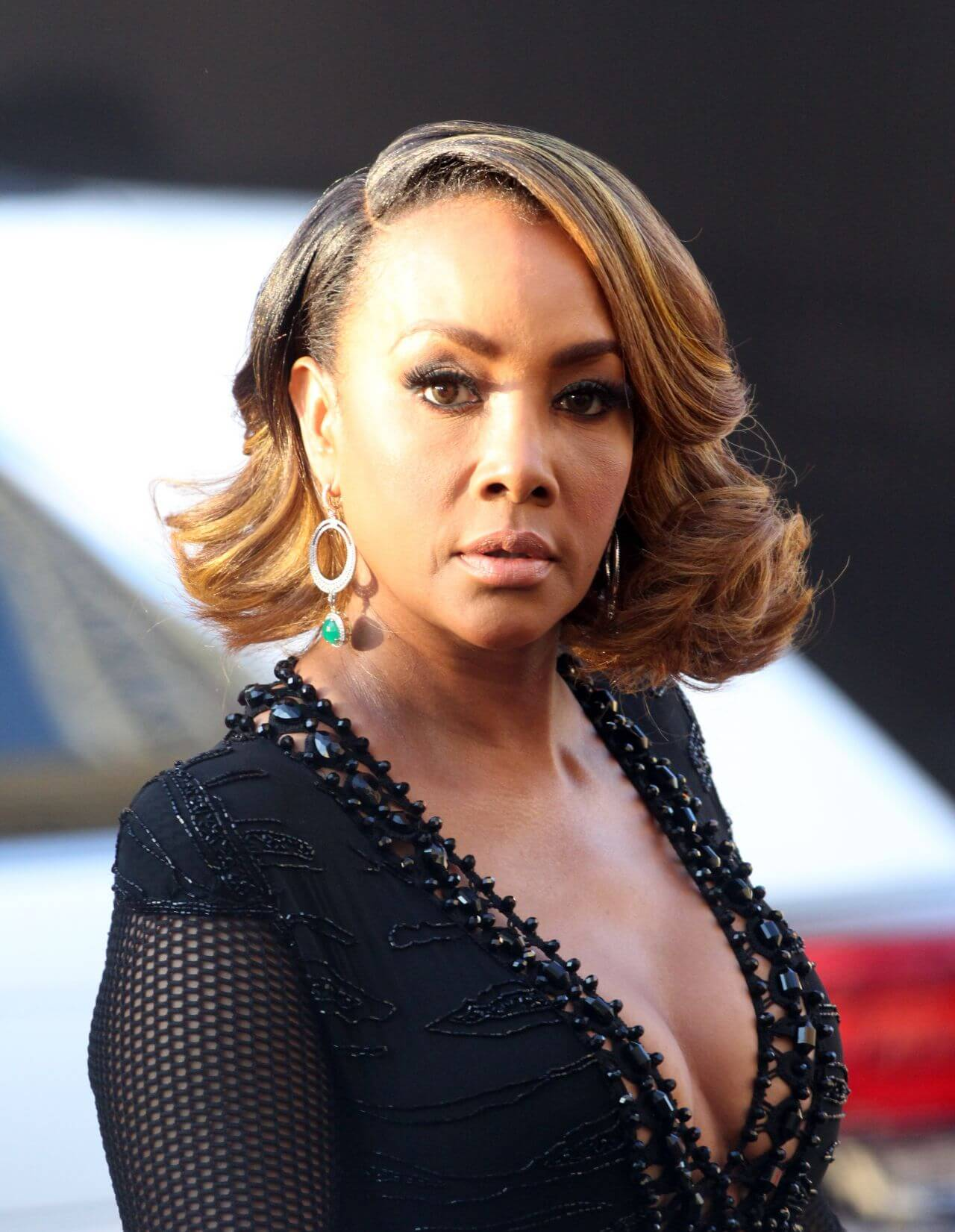 Vivica A. Fox hot side pics