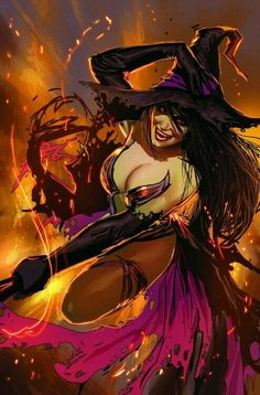 Witch damm hot
