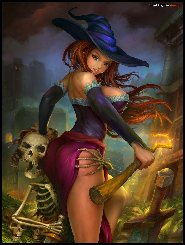 Witch sexy and hot