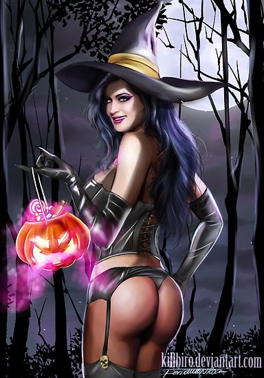 Witch sexy women picture
