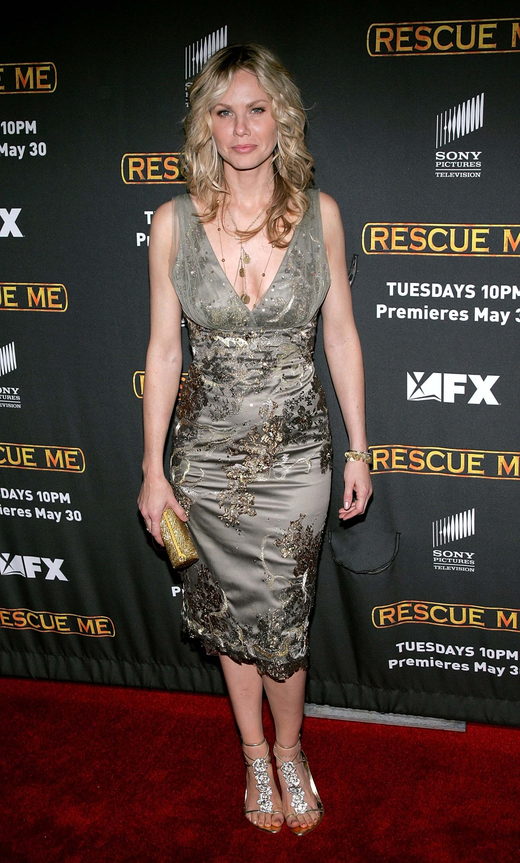 andrea roth cleavage