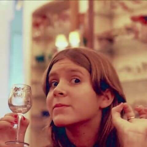 carrie fisher drinking