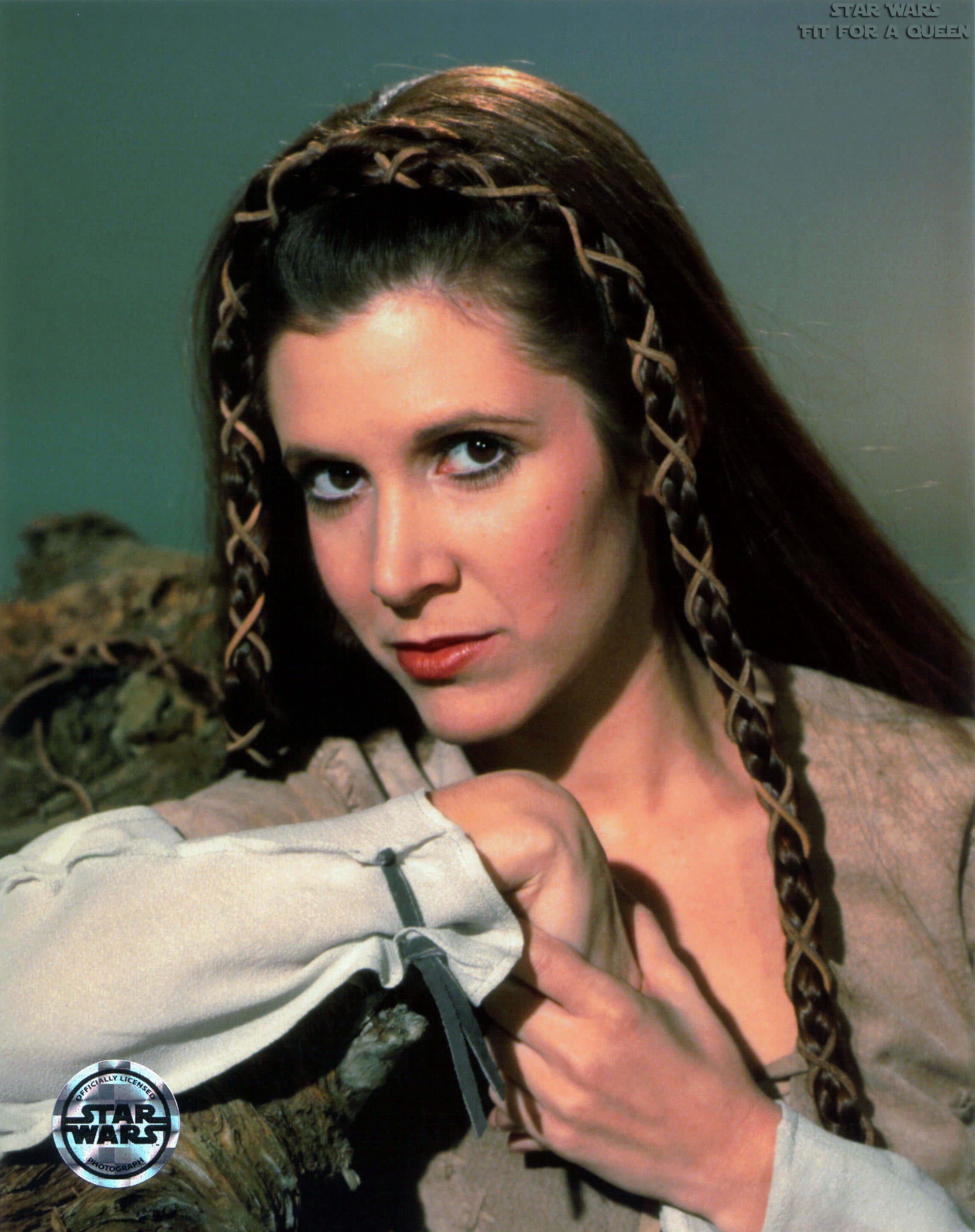 carrie fisher hot lips
