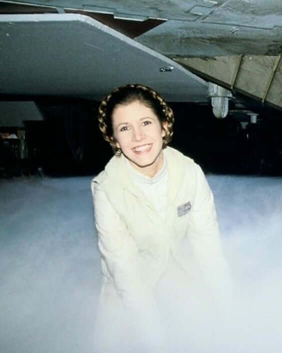 carrie fisher laugh
