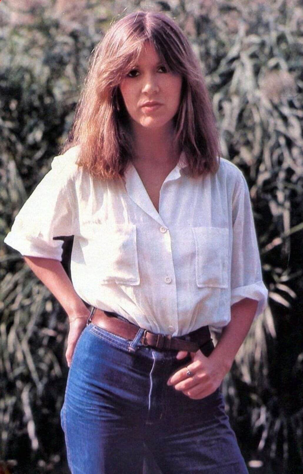 carrie fisher outdoor pics