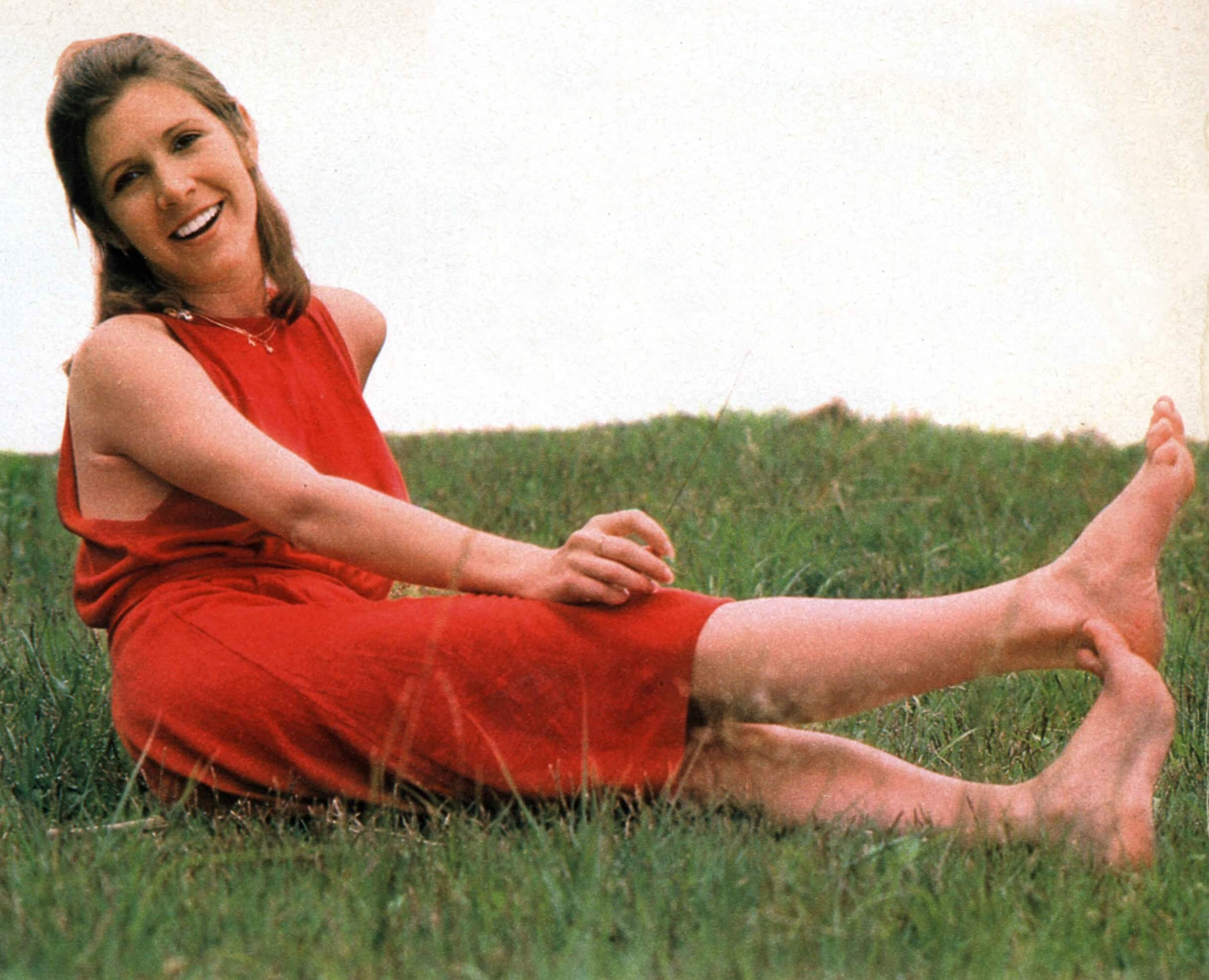 carrie fisher outdoor