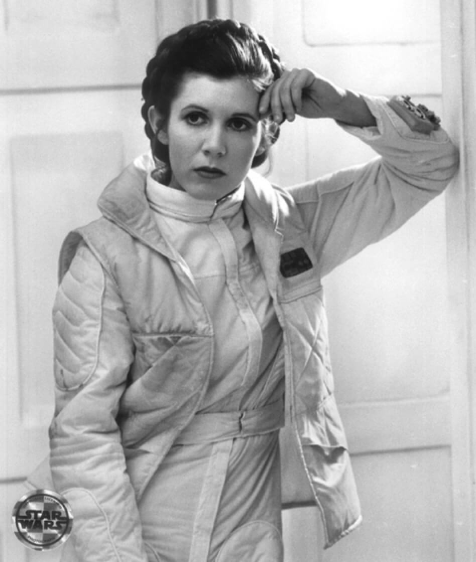 carrie fisher sad